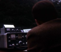 G4ADW operating his KW2000A
