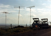 VHF NFD on Matchmoor Lane, Winter Hill.