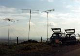 VHF NFD on Matchmoor Lane, Winter Hill.